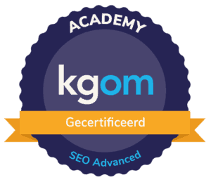 seo advanced gecertificeerd
