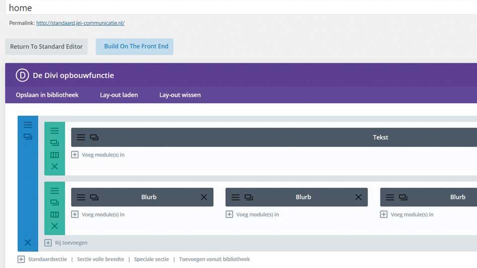 klassieke-Divi-pagebuilder - WordPress-upgrade - Gutenberg - Divi