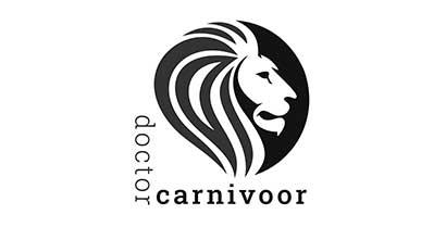 jei-communicatie-zakelijke-website-Doctor-Carnivoor-zwart-wit-logo